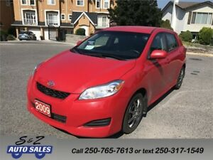 2009 Toyota Matrix XR LOCAL ONE OWNER!