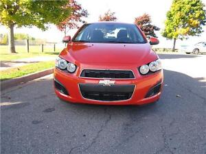 2013 CHEVY SONIC LT/LOW KM/FACTORY WARRANTY ONLY $10,877.