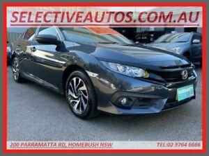 2018 Honda Civic MY18 VTi-SL (Luxe) Limited Edition Blue Continuous Variable Sedan