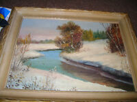 OLD OIL PAINTING