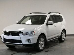 2012 Mitsubishi Outlander GT AWD V6 LEATHER SUNROOF