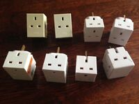 8 Plug in mains socket adapters