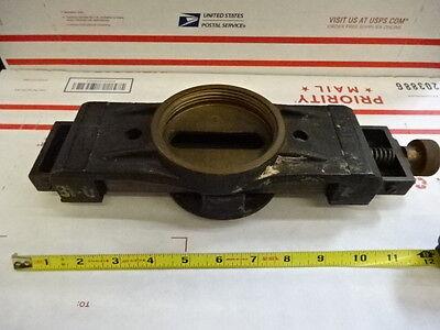 Antique Optical Keuffeld Esser Theodolite Telescope Brass Mount Optics Tc-3