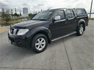 2011 Nissan Navara D40 Series 4 ST-X (4x4) Black 5 Speed Automatic Dual Cab Pick-up Cleveland Redland Area Preview