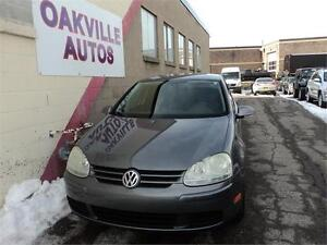 2007 Volkswagen Rabbit 4 DOOR GOLF RABBIT LEATHER MANUAL SAFETY