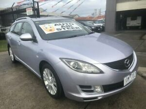 2008 Mazda 6 GH Classic Silver Pearl 5 Speed Auto Activematic Wagon Brooklyn Brimbank Area Preview