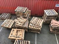 Free American pallets for firewood