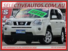 2010 Nissan X-Trail T31 MY 10 ST-L (4x4) White 6 Speed CVT Auto Sequential Wagon Homebush Strathfield Area Preview