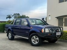 2006 Nissan Navara D22 ST-R (4x4) Blue 5 Speed Manual Dual Cab Brendale Pine Rivers Area Preview