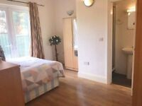 Beautiful ensuite with easy access to Central London