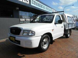 2003 Mazda B2600 Bravo DX White 5 Speed Manual Cab Chassis Croydon Burwood Area Preview