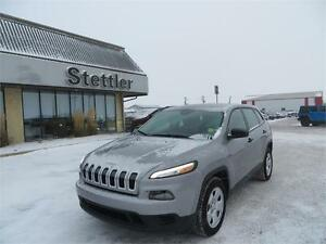 2015 Jeep Cherokee SPORT FWD TRACTION CONTROL! DEMO!!