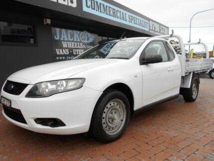 2010 Ford Falcon FG Upgrade White 6 Speed Auto Seq Sportshift Utility Croydon Burwood Area Preview
