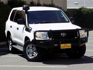 2012 Toyota Landcruiser VDJ200R MY12 GX White 6 Speed Sports Automatic Wagon Blair Athol Port Adelaide Area Preview