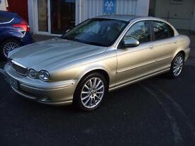 Jaguar X-TYPE 2.0D S 130 Bhp Turbo Diesel Leather Air Con Ford Mondeo tdci