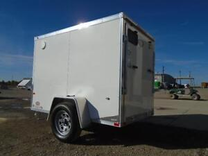 5x8 LIGHT WEIGHT NEO - EASY TO TOW - GREAT ALUMINUM TRAILER! London Ontario image 2