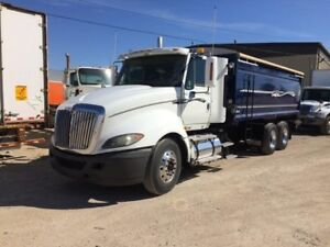 2009 International Prostar Premium, Used Grain Truck