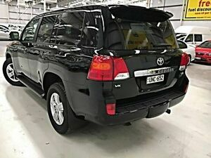 2012 Toyota Landcruiser URJ202R MY12 VX Black 6 Speed Sports Automatic Wagon Edgewater Joondalup Area Preview
