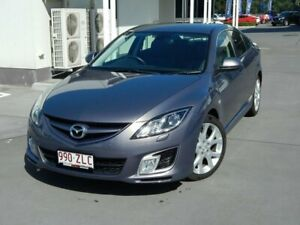 2009 Mazda 6 GH1021 MY09 Luxury Sports Grey 6 Speed Manual Hatchback North Lakes Pine Rivers Area Preview