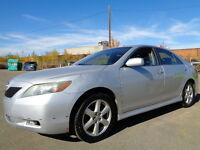 2007 Toyota Camry SE SPORT PKG-HEATED LEATHER-SUNROOF
