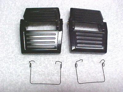 2 Rainbow Rexair vacuum cleaner latch+2 springs:D3C,D4C.SE locks water basin pan, used for sale  USA