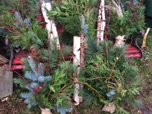 Christmas Branches, Rustic Inserts ONLY A FEW LEFT