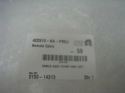 AMAT 0150-14313 Cable Assy Pump EMO 12FT 329693