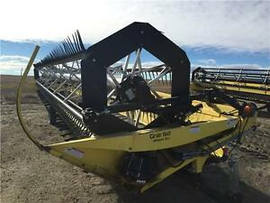 2005 HONEY BEE SP36 COMBINE HEADER -36' WITH JD S SERIES ADAPTER