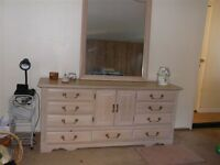 10 DRAWER CHEST + MIRROR