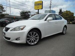 2007 LEXUS IS250 AWD  **ULTRA PREMIUM PKG** *NAVI, CAMERA*