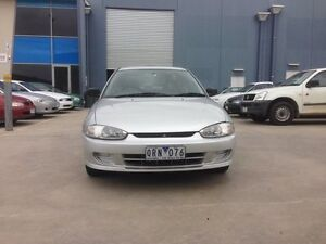 2001 Mitsubishi Lancer CE GLi Silver 4 Speed Automatic Coupe Newport Hobsons Bay Area Preview