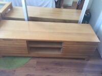 Next wooden TV Cabinet and side table
