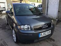 2002 Audi A2, starts and drives well, MOT until January 2018, very clean inside and out, drives fant