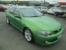 2004 Ford Falcon BA XR6 Green 5 Speed Manual Sedan Coopers Plains Brisbane South West Preview