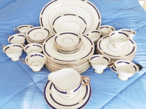 *** VINTAGE SHELLEY IMPERIAL FINE BONE CHINA 12 PIECE PLACESETTING ***