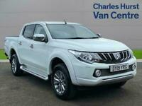2019 Mitsubishi L200 Double Cab Di-D 178 Barbarian 4Wd Double Cab Pick-Up Diesel
