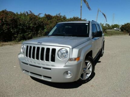 2010 Jeep Patriot MK MY09 Sport Silver 6 Speed CVT Auto Sequential Wagon Vincent Townsville City Preview