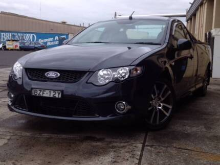 2011 Ford Falcon XR6 Limited Edition super cab ute
