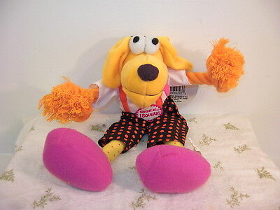 Silly Willie Plush Rope dog toy, with squeaker! NEW!