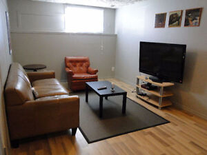 2 Bedroom Basement Suite Furnished CHETWYND March.