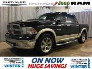 2010 Dodge Ram 1500 Laramie LEATHER HEATED/COOLED SEATS NAV REAR