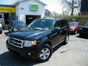 2009 Ford Escape XLT CUIR, TOIT OUVRANT . 4CYLINDRES .4X4