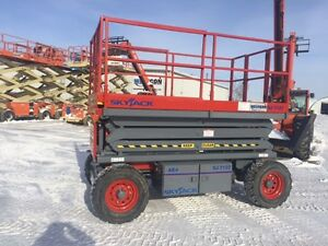 2006 Skyjack SJ7127 Rough Terrain Scissor Lift