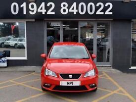 2013 13 SEAT IBIZA 1.4 SE 5D 85 BHP HATCH, RED, 1 OWNER, 55-000M MOST SH+ BILLS,
