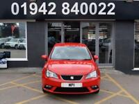 2013 13 SEAT IBIZA 1.4 SE 5D 85 BHP HATCH, RED, 1 OWNER, 55-000M MOST SH+ BILLS,