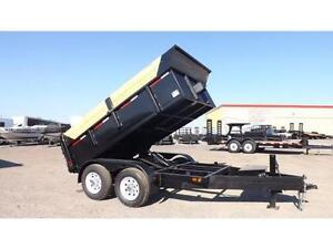 DUMP TRAILERS  COMMERCIAL GRADE  MADE IN CANADA