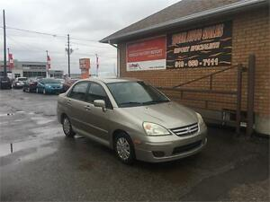 2005 Suzuki Aerio***ONLY153 KMS****CERTIFIED AND E-TESTED