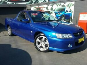 2005 Holden Commodore VZ S Blue 6 Speed Manual Utility Greenacre Bankstown Area Preview