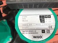 Wilo Twin heating Pump New/Unsued