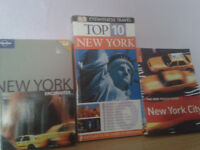 Three New York Travel Books hard to find Eyewitness Guides Amazing Very Useful £2 each £5 lot